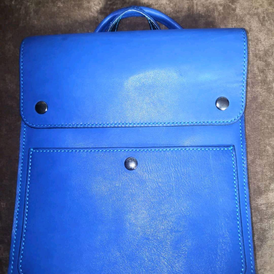 Рюкзак-сумка из натуральной кожи, Рюкзаки, Санкт-Петербург,  Фото №1