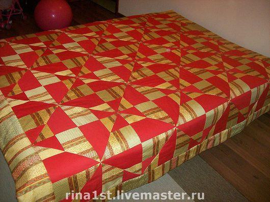 """Текстиль, ковры ручной работы. Ярмарка Мастеров - ручная работа. Купить лоскутное одеяло """"вечер"""" №2. Handmade. Лоскутное одеяло"""