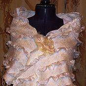Свадебный салон handmade. Livemaster - original item Tippet