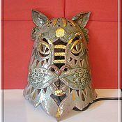 Для дома и интерьера handmade. Livemaster - original item Cat-teller.Sconce. Handmade.