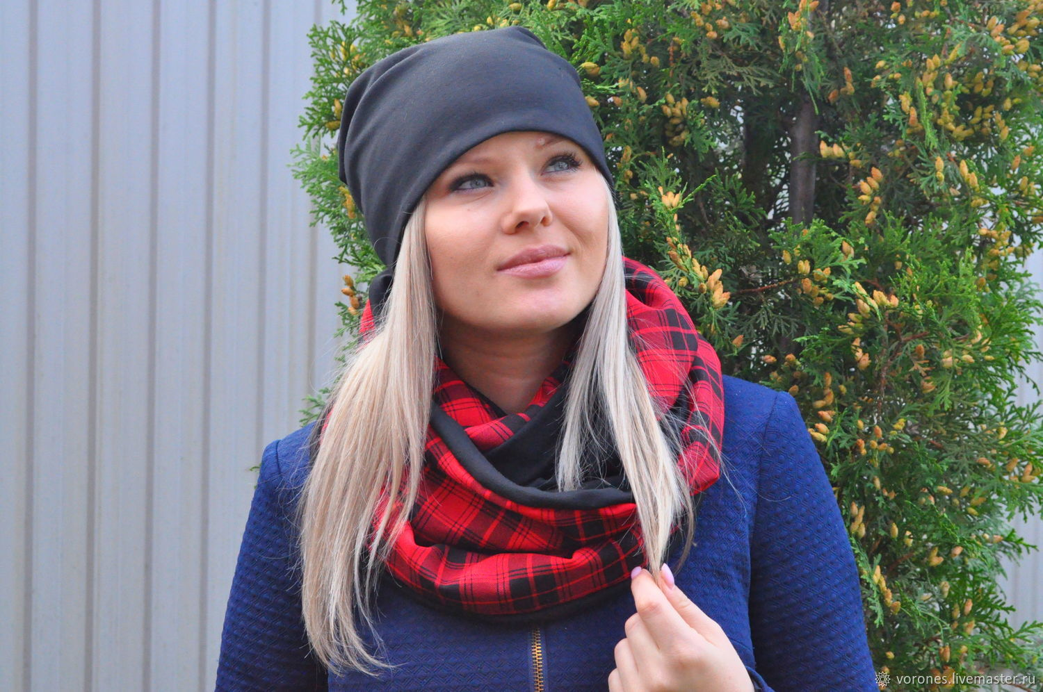Hat, beanie and Snood 'Meet autumn brighter', Headwear Sets, Moscow,  Фото №1