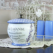 Для дома и интерьера handmade. Livemaster - original item Sugar bowl in the style of Provence. Handmade.