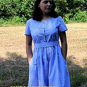 Одежда handmade. Livemaster - original item Dress of cotton