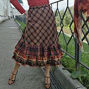"""Одежда ручной работы. Ярмарка Мастеров - ручная работа Юбка бохо """"Листопад"""". Handmade."""
