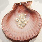 Материалы для творчества handmade. Livemaster - original item Microamp natural white beads 3-3,5.  mm grade AAA. Handmade.