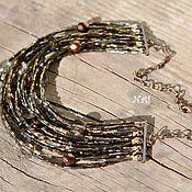 """Украшения ручной работы. Ярмарка Мастеров - ручная работа ожерелье """"Изюм"""". Handmade."""