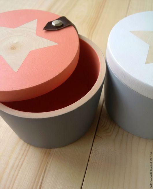 шкатулка со звездой, коробочка для хранения, шкатулка с кожей
