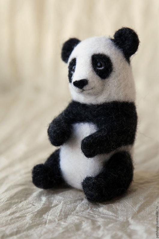 Игрушки животные, ручной работы. Ярмарка Мастеров - ручная работа. Купить Панда. Handmade. Чёрно-белый, пандочка, панда тедди