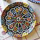 Тарелки ручной работы. Керамика в восточном стиле. Ceramic Tales by Valentina Fadeeva. Ярмарка Мастеров. Супница, керамика на заказ