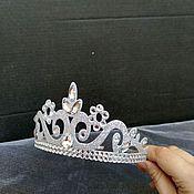 Диадемы ручной работы. Ярмарка Мастеров - ручная работа Корона для принцессы. Handmade.