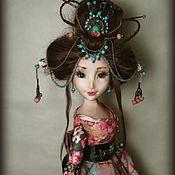 Куклы и игрушки ручной работы. Ярмарка Мастеров - ручная работа Когда сакура цветёт. Handmade.