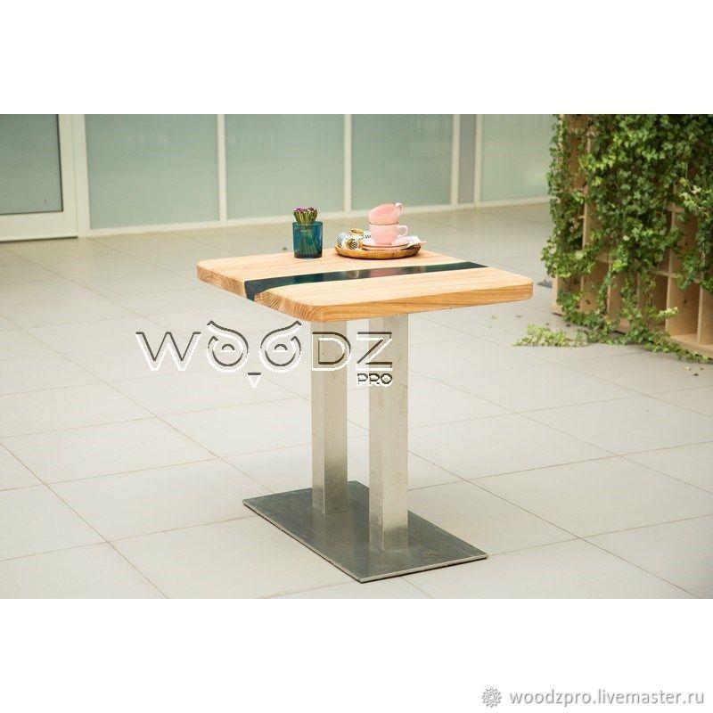Журнальный столик из Карагача, Столы, Москва,  Фото №1