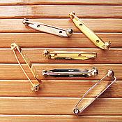 handmade. Livemaster - original item Japanese pins with 35 mm protective mechanism, brooches. Handmade.