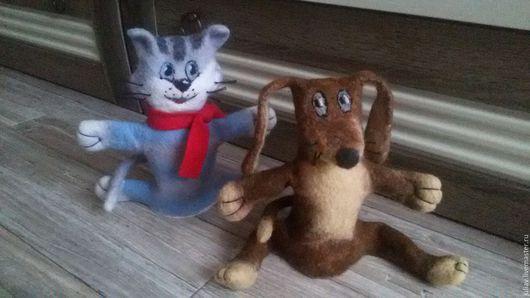 Кукольный театр ручной работы. Ярмарка Мастеров - ручная работа. Купить Валяная перчаточная кукла. Handmade. Комбинированный, перчаточная кукла