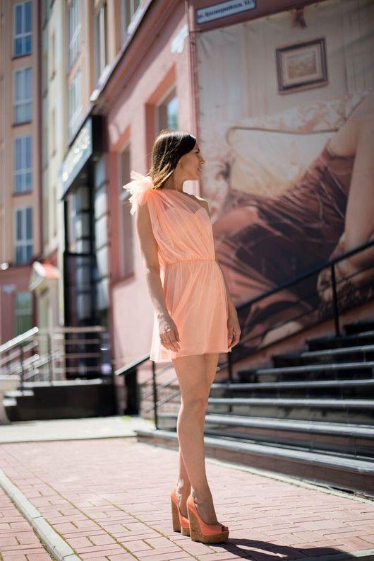 Платья ручной работы. Ярмарка Мастеров - ручная работа. Купить Платье с корсетным верхом на молнии. Handmade. Платье нарядное