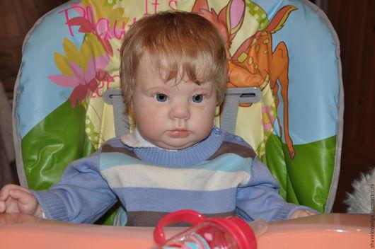 Куклы-младенцы и reborn ручной работы. Ярмарка Мастеров - ручная работа. Купить Кукла реборн Мирошка. Handmade. Ольга шувалова