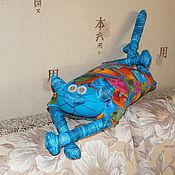 """Для дома и интерьера ручной работы. Ярмарка Мастеров - ручная работа Игрушка-подушка """"Радужный кот"""" фантастические кони. Handmade."""