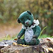 Мишки Тедди ручной работы. Ярмарка Мастеров - ручная работа Лесной музыкант мишка тедди. Handmade.