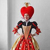 "Одежда handmade. Livemaster - original item Red Queen ""Alice in Wonderland"". Animator-actor suit. Handmade."