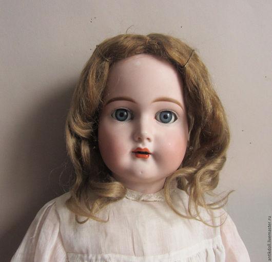 Куклы и игрушки ручной работы. Ярмарка Мастеров - ручная работа. Купить Скидка 20%Антикварный мохеровый парик для антикварной куклы.. Handmade.