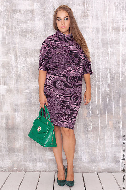 """Платья ручной работы. Ярмарка Мастеров - ручная работа. Купить Шикарное платье с воротником """"хомут""""27001-1. Handmade. Синий"""