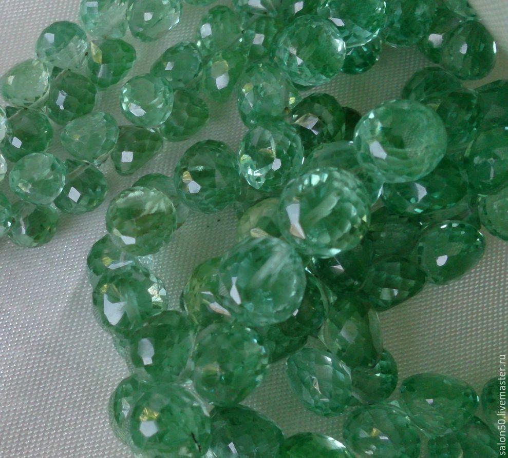 3 размера ! Шпинель зеленая, форма лук. см. описание, Бусины, Красногорск, Фото №1