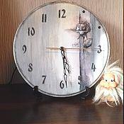 """Для дома и интерьера ручной работы. Ярмарка Мастеров - ручная работа Часы """" Роза"""". Handmade."""