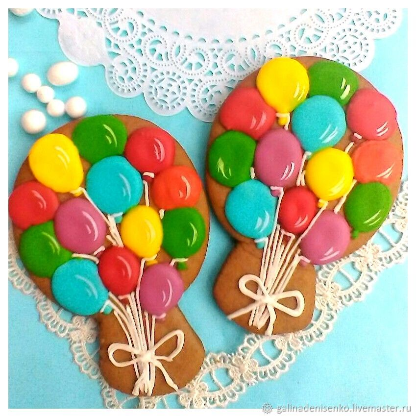 Stick balloons, Gingerbread Cookies Set, Rostov-on-Don,  Фото №1