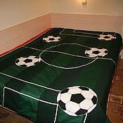 Blankets handmade. Livemaster - original item Football. Handmade.