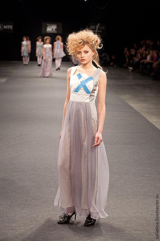 """Платья ручной работы. Ярмарка Мастеров - ручная работа. Купить Платье """"Святыня"""". Handmade. Однотонный, шикарное платье, длинное платье"""