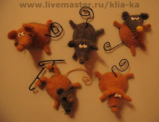 Animal Toys handmade. Livemaster - handmade. Buy Rats.Rat