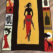 Для дома и интерьера handmade. Livemaster - original item Knitted blanket-bedspread