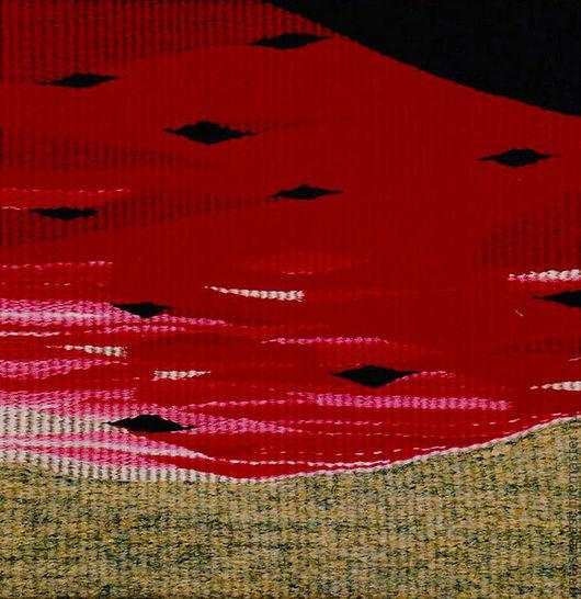 """Гобелен """"Арбуз красный"""". Ручное ткачество. Наталья Шестакова - дизайнер, декоратор."""