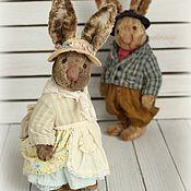 Куклы и игрушки ручной работы. Ярмарка Мастеров - ручная работа Люси и Жюль, пара (15 см). Handmade.