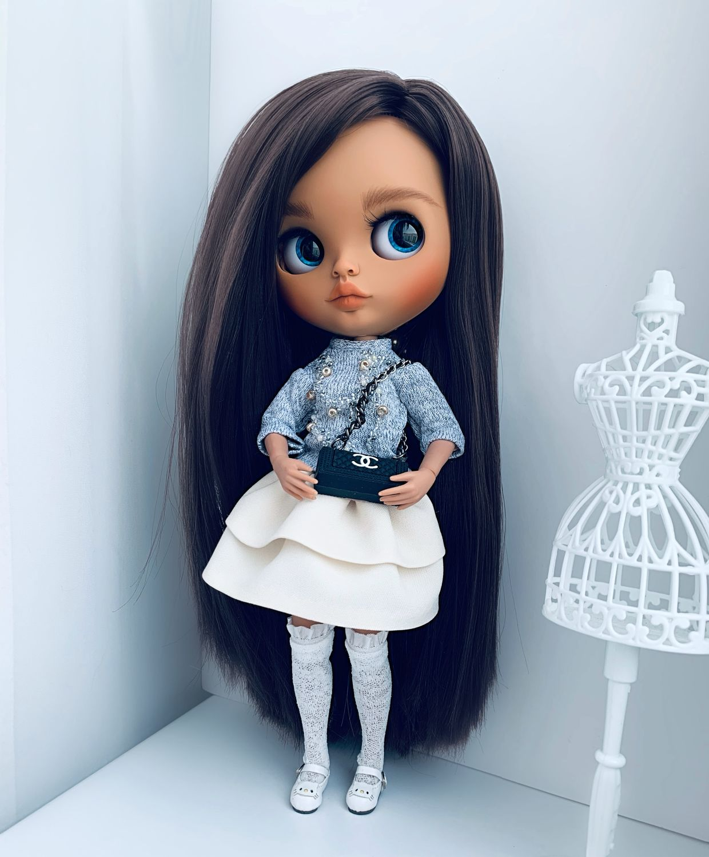 Кукла Блайз по имени Сандра (кастом), Кастом, Магнитогорск,  Фото №1