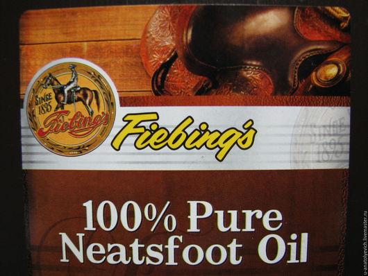 """Другие виды рукоделия ручной работы. Ярмарка Мастеров - ручная работа. Купить Fiebing""""s 100% Pure Neatsfoot Oil -НА РОЗЛИВ. Handmade."""