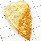 Кабошоны ручной работы. Ярмарка Мастеров - ручная работа Коралл кабошон Индонезия натуральный камень. Handmade.