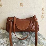 Винтажные сумки ручной работы. Ярмарка Мастеров - ручная работа Винтажная кожаная сумка Borella. Handmade.