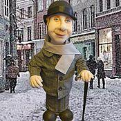 """Куклы и игрушки ручной работы. Ярмарка Мастеров - ручная работа Кукла - бар """"Доктор Ватсон"""". Handmade."""