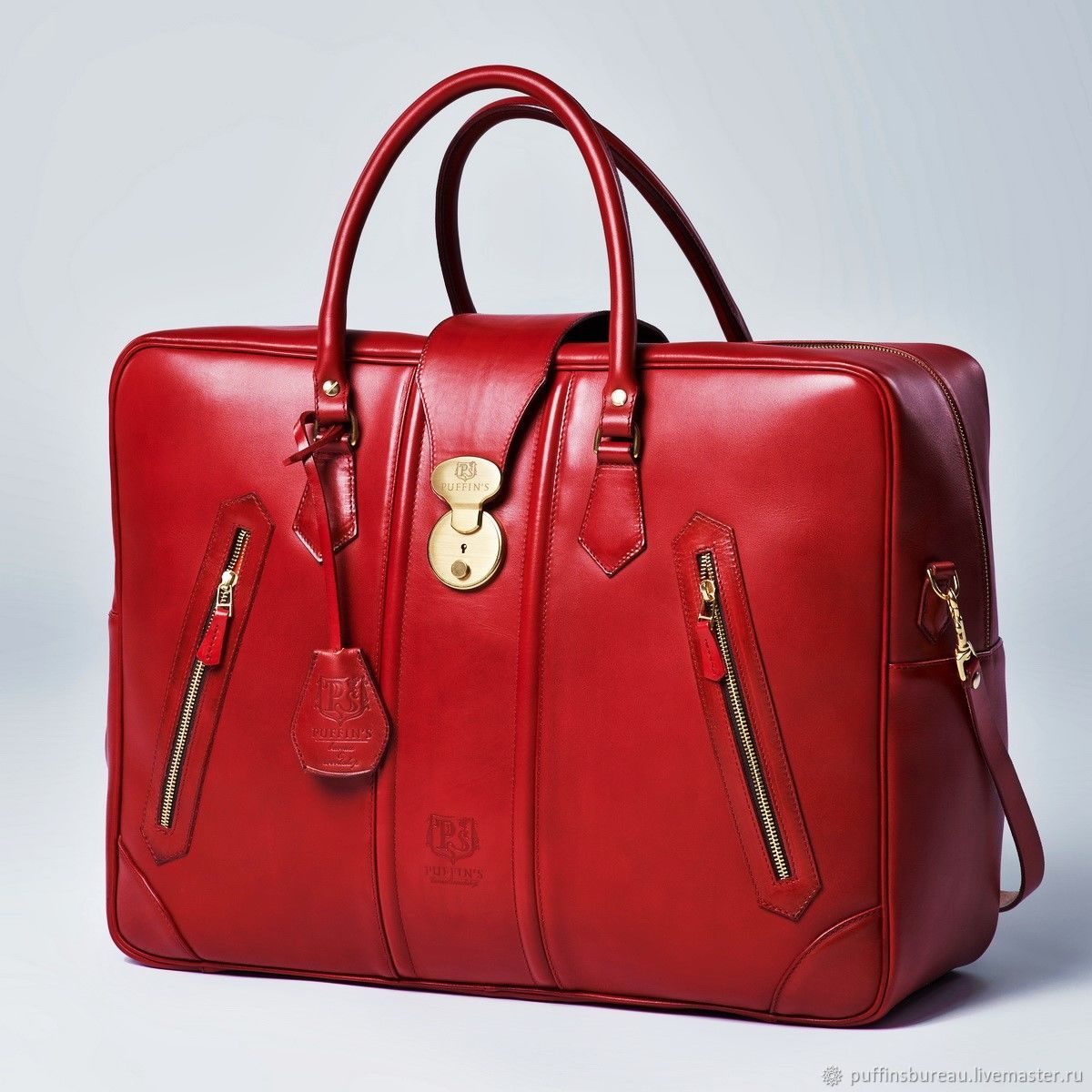 Travel bag HOLIDAY red currant & blue deep, Bags and accessories, Moscow,  Фото №1