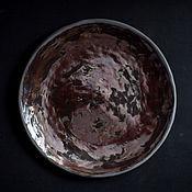 Тарелки ручной работы. Ярмарка Мастеров - ручная работа Тарелки: Тарелка Полнолуние. Handmade.