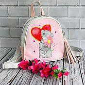 Сумки ручной работы. Ярмарка Мастеров - ручная работа Детский рюкзак из натуральной кожи. Handmade.