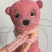 Куклы и игрушки ручной работы. Ярмарка Мастеров - ручная работа Малиновый кот Баюн. Handmade.