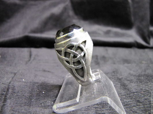 """Кольца ручной работы. Ярмарка Мастеров - ручная работа. Купить Перстень """"Викинг"""". Handmade. Черный, перстень, стильное украшение"""