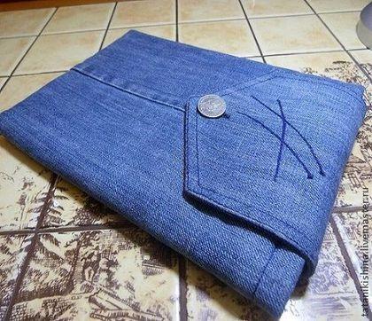 Сшить чехол для планшета своими руками из джинсов