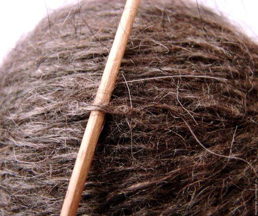 Пряжа платочная «Весенняя Сказка 4» 420м100грамм пуховая. Пряжа теплая. Цвет темно-серый.