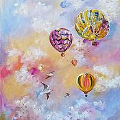 Картины и панно handmade. Livemaster - original item Gentle dreams - painting on canvas. Handmade.