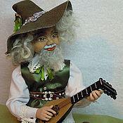 Куклы и игрушки ручной работы. Ярмарка Мастеров - ручная работа Гном-домовой Януарий. Handmade.