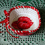 Для дома и интерьера ручной работы. Ярмарка Мастеров - ручная работа Интерьерные корзинки. Handmade.