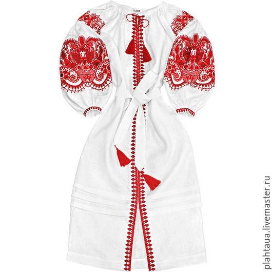 """Платья ручной работы. Ярмарка Мастеров - ручная работа. Купить Длинное платье """"Восточная сказка"""". Handmade. Белый, вышитая одежда"""
